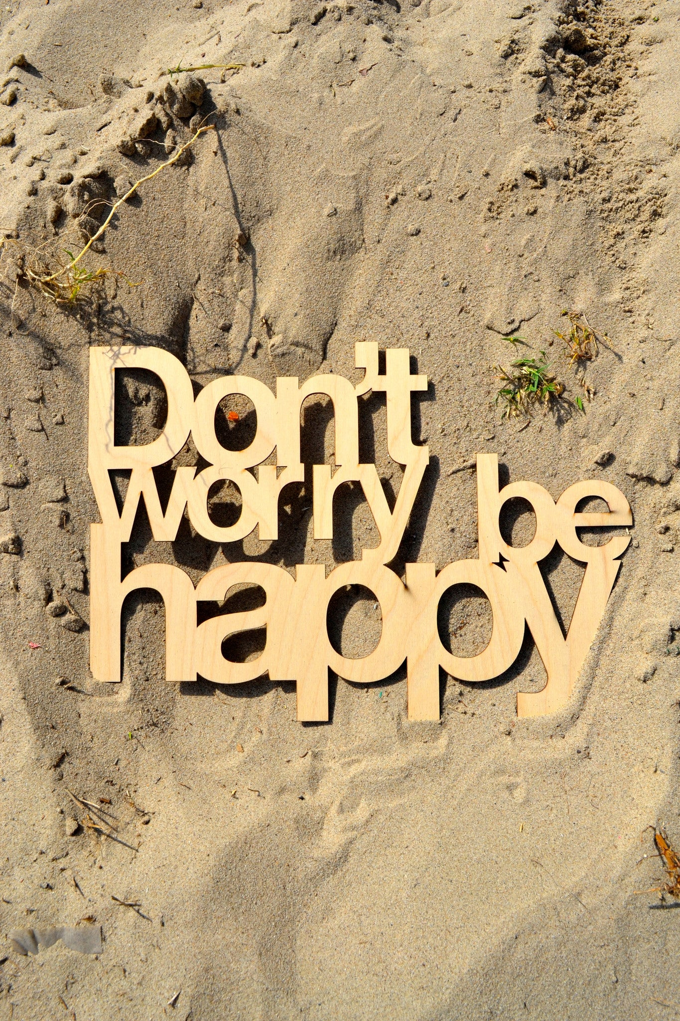 Don\'t Worry Be Happy Wall Art – Venice Woods