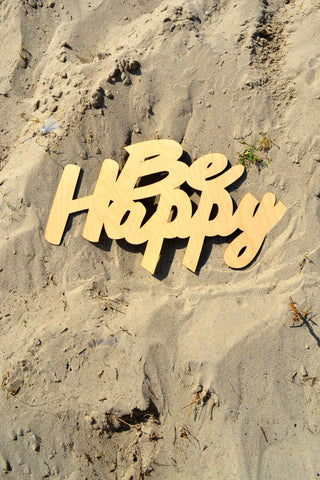 Be Happy Wall Art