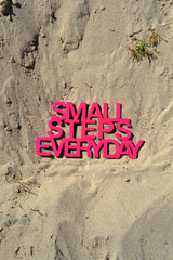 Small Steps Everyday Wall Art