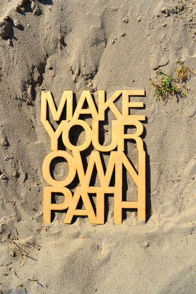 Make Your Own Path Wall Art