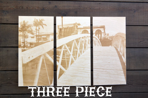 Canals Three Piece Triptych