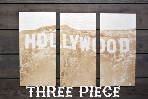 Hollywood Three Piece Triptych