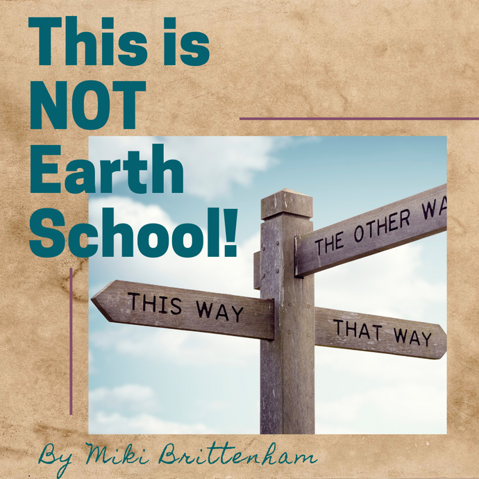 THIS IS NOT EARTH SCHOOL!