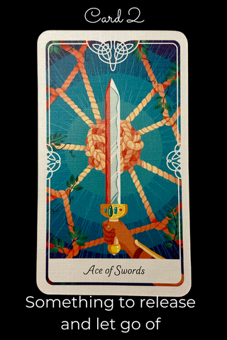 Ace of Swords from Tarot of The Divine