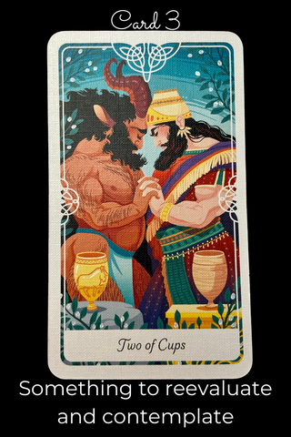 Two of Cups from Tarot of The Divine