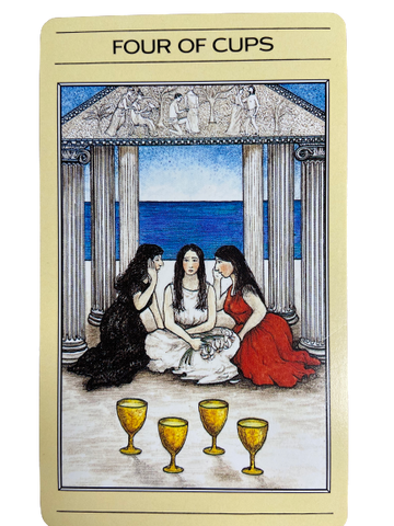 The four of cups-The Mythic Tarot