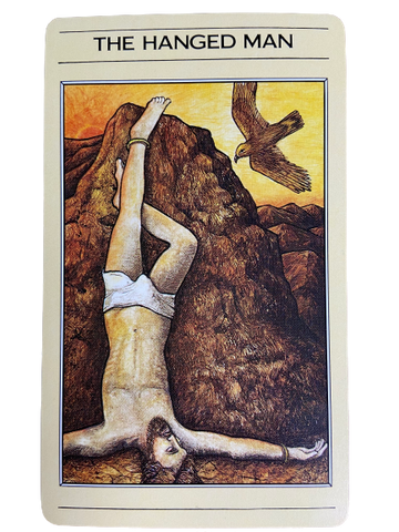 The Hanged Man- The Mythic Tarot
