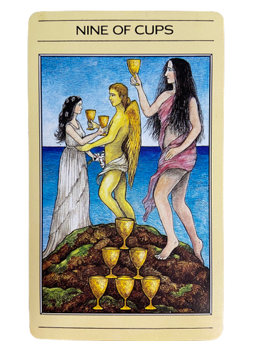Nine of Cups- The Mythic Tarot