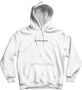 Alpha Male Limited Edition Hoodie - White