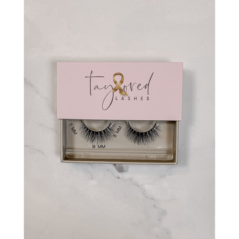hands on top Taylored Lashes