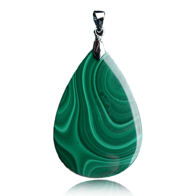 Malachite Water Drop Pendant