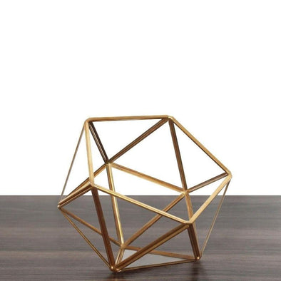 Crystal Display Box - Icosahedron