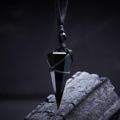 Obsidian Truth Necklace