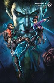 NIGHTWING #74 COVER B ALAN QUAH VARIANT