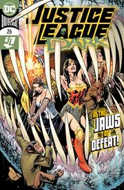 JUSTICE LEAGUE DARK #26 COVER A YANICK PAQUETTE