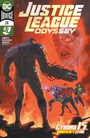 JUSTICE LEAGUE ODYSSEY #24 COVER A JOSE LADRONN