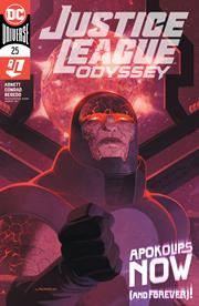 JUSTICE LEAGUE ODYSSEY #25 COVER A LADRONN