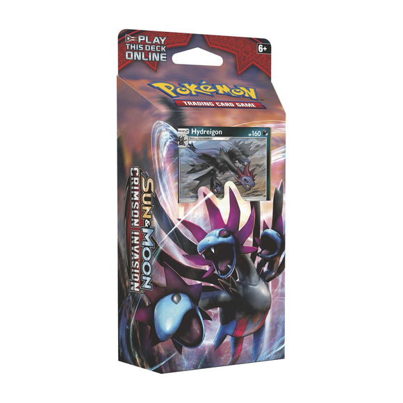 Pokemon Crimson Invasion Hydreigon Destruction Fang Theme Deck (60 Cards)