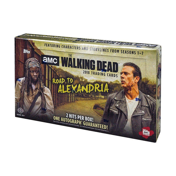 2018 Walking Dead: Road to Alexandria Hobby Box