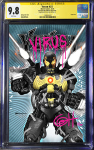 Venom #25 Greg Horn Iron Lion Exclusive CGC SS Remark Best Chance at a 9.8