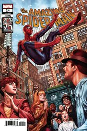 AMAZING SPIDER-MAN #24 BROOKS MARVELS 25TH TRIBUTE VARIANT
