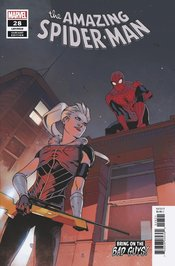 AMAZING SPIDER-MAN #28 BENGAL BRING ON THE BAD GUYS VARIANT