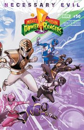 MIGHTY MORPHIN POWER RANGERS #50 CONNECTING VARIANT