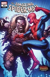 AMAZING SPIDER-MAN #43 KEOWN MARVEL ZOMBIES VARIANT