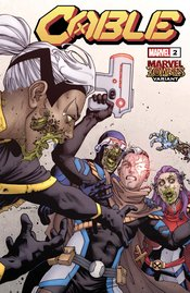 CABLE #2 YARDIN MARVEL ZOMBIES VARIANT