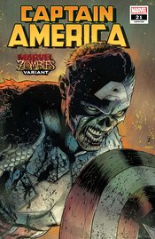 CAPTAIN AMERICA #21 ZIRCHER MARVEL ZOMBIES VARIANT