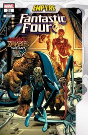 FANTASTIC FOUR #21 ADAMS MARVEL ZOMBIES VARIANT