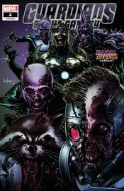 GUARDIANS OF THE GALAXY #4 SUAYAN MARVEL ZOMBIES VARIANT