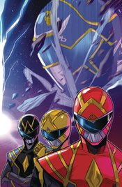 GO GO POWER RANGERS #32 COVER A CARLINI CONNECTING