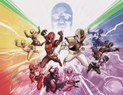 MIGHTY MORPHIN POWER RANGERS #50 FOIL WRAPAROUND VARIANT