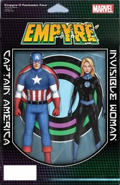 EMPYRE FANTASTIC FOUR #0 CHRISTOPHER 2-PACK ACTION FIGURE VARIANT