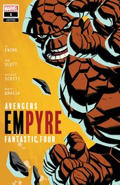 EMPYRE #1 (OF 6) MICHAEL CHO FANTASTIC FOUR VARIANT