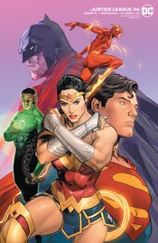 JUSTICE LEAGUE #46 CLAY MANN VARIANT EDITION