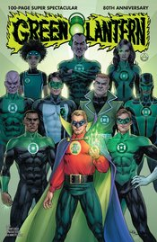 GREEN LANTERN 80TH ANNIVERSARY 100 PAGE SUPER SPECTACULAR #1 1940S VARIANT EDITION
