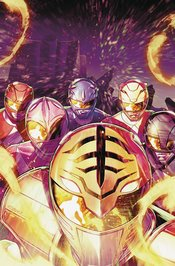 MIGHTY MORPHIN POWER RANGERS #51 COVER A CAMPBELL