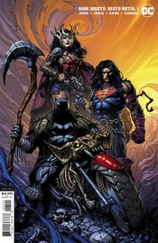 DARK NIGHTS DEATH METAL #1 (OF 6) DAVID FINCH BATMAN VARIANT EDITION