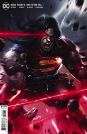 DARK NIGHTS DEATH METAL #1 (OF 6) MATTINA SUPERMAN VARIANT EDITION