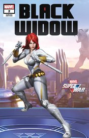 BLACK WIDOW #2 GAME VARIANT