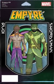 EMPYRE #3 (OF 6) CHRISTOPHER 2-PACK ACTION FIGURE VARIANT