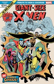GIANT SIZE X-MEN TRIBUTE WEIN COCKRUM #1 MOORE VARIANT