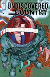 UNDISCOVERED COUNTRY #7 COVER B ADLARD (MR)