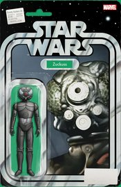 STAR WARS BOUNTY HUNTERS #6 CHRISTOPHER ACTION FIGURE VARIANT