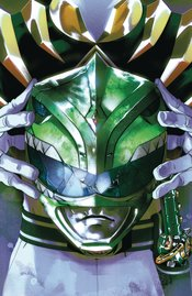 MIGHTY MORPHIN POWER RANGERS #55 FOIL MONTES VARIANT