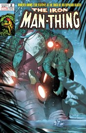 IRON MAN #2 DE IULUS IRON MAN THING HORROR VARIANT