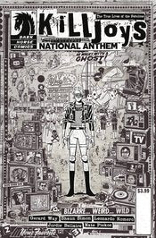 TRUE LIVES FABULOUS KILLJOYS NATIONAL ANTHEM #1 COVER C RENTLE VARIANT