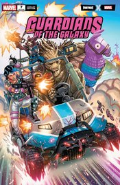 GUARDIANS OF THE GALAXY #7 GARRON FORTNITE VARIANT